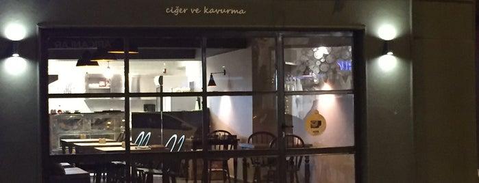 Özdemirler Ciğer ve Kavurma Salonu is one of Yemek.