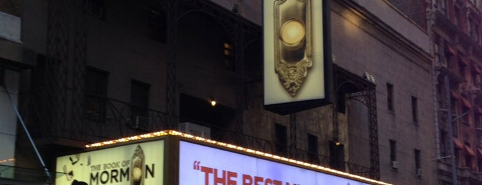 Eugene O'Neill Theatre is one of Nova York.