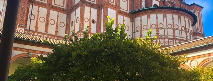 Santa Maria delle Grazie is one of สถานที่ที่ Дарина ถูกใจ.