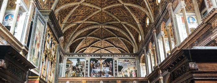 Chiesa di San Maurizio al Monastero Maggiore is one of สถานที่ที่ Дарина ถูกใจ.