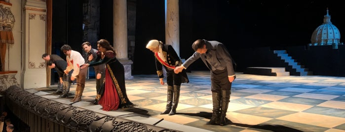Teatro Mikhailovsky is one of Lugares favoritos de Дарина.
