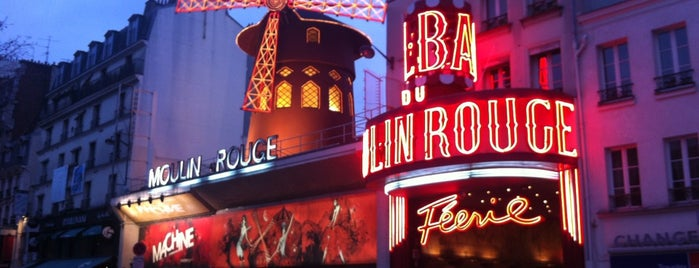 Moulin Rouge is one of Париж.