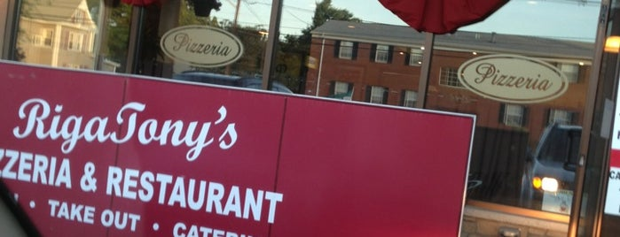 RigaTony's is one of Lugares guardados de Lizzie.