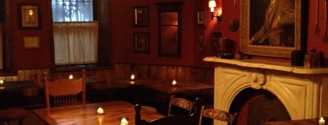 The Shakespeare is one of 9 Toasty Subterranean Bars To Hide in 'Til Spring.