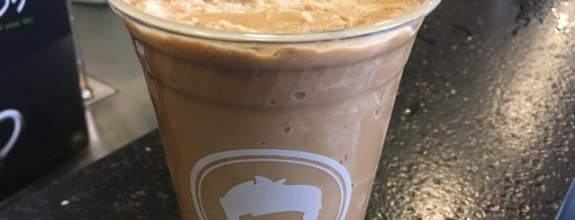 Gregorys Coffee is one of The 17 Best Iced Coffee Drinks in NYC.