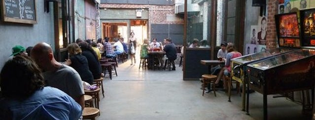 Mission Dolores is one of The 15 Best Bars with Backyards in NYC.