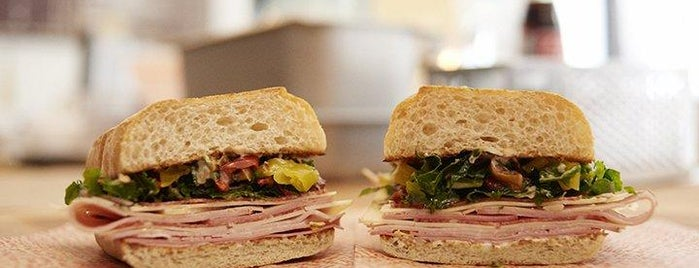 Morris Sandwich Shop is one of new york spots pt.3.