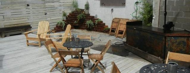 Lavender Lake is one of The 15 Best Bars with Backyards in NYC.