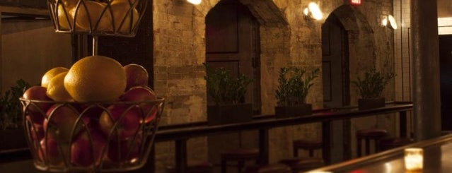 Sweetwater Social is one of 9 Toasty Subterranean Bars To Hide in 'Til Spring.