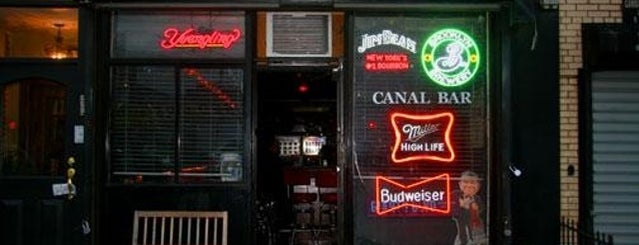Canal Bar is one of places to thing.