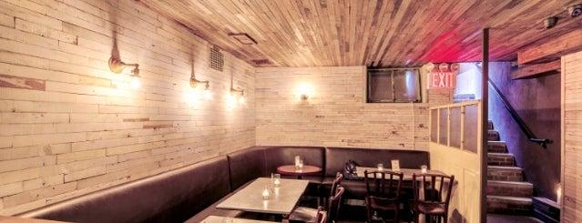 Bar Below Rye is one of 9 Toasty Subterranean Bars To Hide in 'Til Spring.