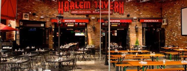 Harlem Tavern is one of The 15 Best Bars with Backyards in NYC.
