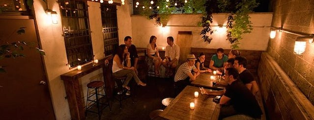 Sweet Afton is one of The 15 Best Bars with Backyards in NYC.