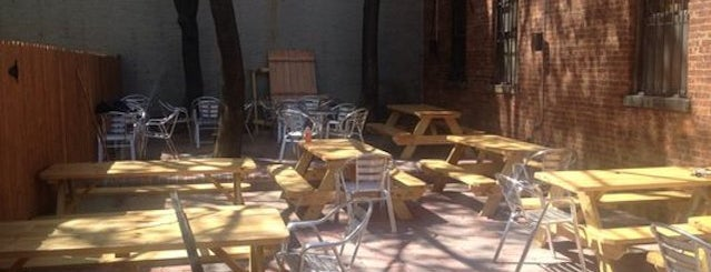 Nostrand Avenue Pub is one of The 15 Best Bars with Backyards in NYC.