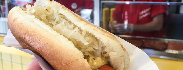 Gray's Papaya is one of The 11 Best Hot Dogs In NYC.