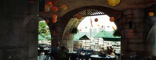 Boat Basin Cafe is one of The 15 Best Bars with Backyards in NYC.