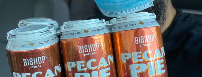 Bishop Cider Co. Cidercade is one of Dallas.