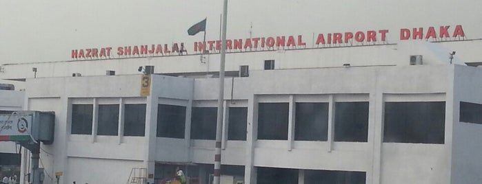Hazrat Shahjalal International Airport (DAC) is one of internatiınal airport.