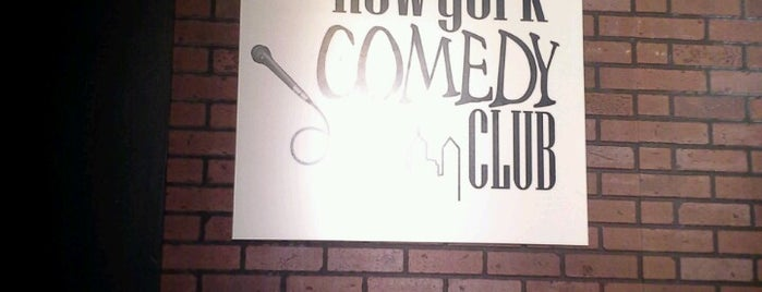 New York Comedy Club is one of Frequency.