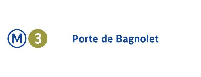 Métro Porte de Bagnolet [3] is one of Went before.