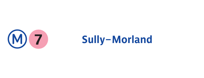 Métro Sully—Morland [7] is one of Went before.