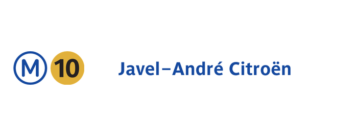 Métro Javel—André Citroën [10] is one of Went before.