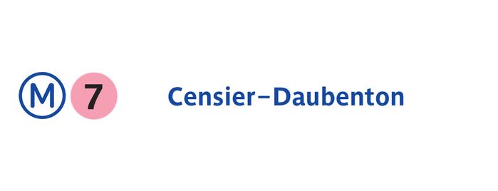 Métro Censier–Daubenton [7] is one of Went before.