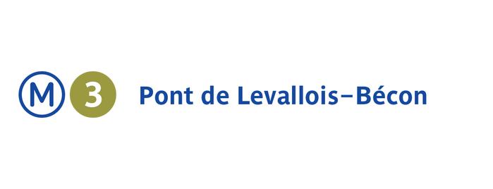Métro Pont de Levallois—Bécon [3] is one of Went before.