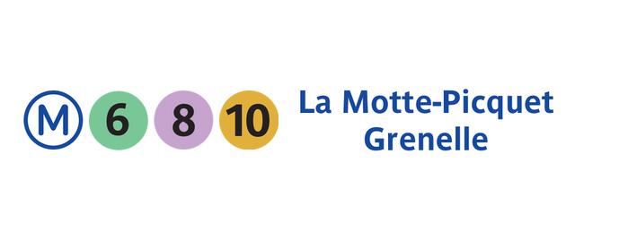 Métro La Motte-Picquet – Grenelle [6,8,10] is one of Went before.
