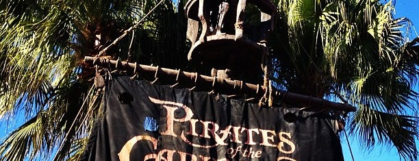 Pirates of the Caribbean is one of DISNEY.