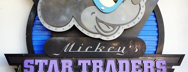 Mickey's Star Traders is one of October 2014 Disney Trip.