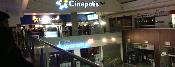 Cinépolis is one of Diversiones y Comida.