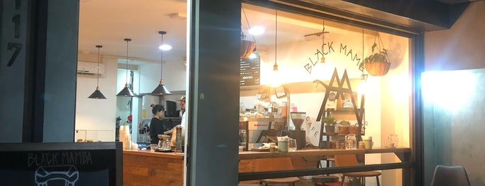 Black Mamba Cafetería is one of ettas 님이 좋아한 장소.