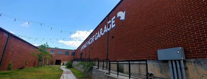 Monday Night Garage is one of [ Atlanta ].