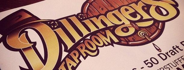Dillinger's Taproom is one of Craft beer waterholes in Charlotte.