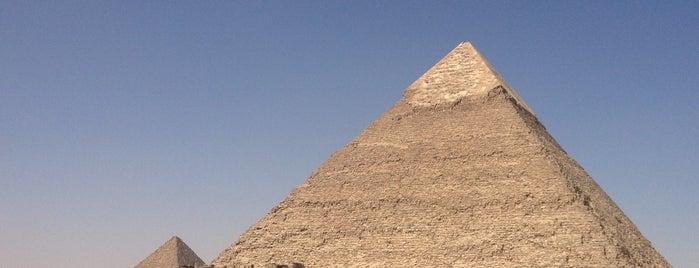 Gran Pirámide de Guiza is one of Sitios Internacionales.