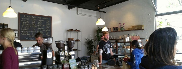 Dune Coffee Roasters is one of Santa Barbara.