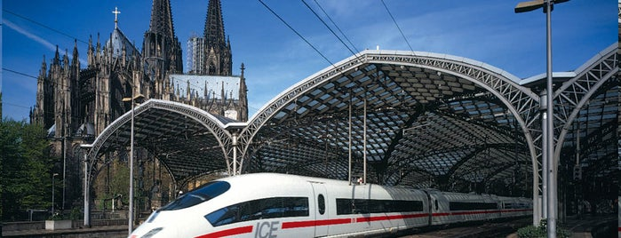 Köln Hauptbahnhof is one of visited stations.