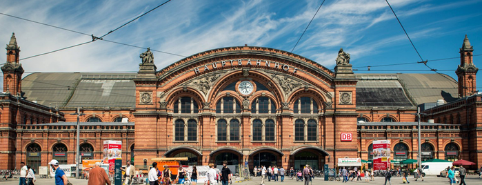Bremen Hauptbahnhof is one of Ante 님이 좋아한 장소.