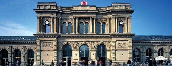 Mainz Hauptbahnhof is one of Bahnhöfe besucht !.