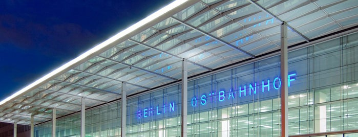 Berlin Ostbahnhof is one of Galina 님이 저장한 장소.