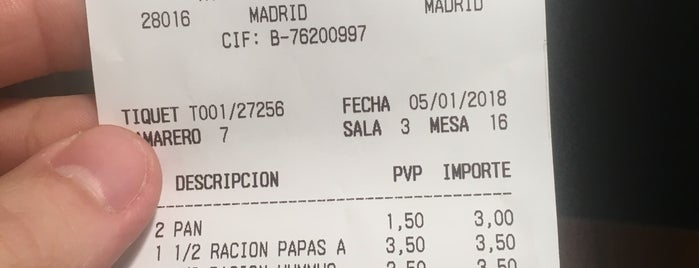 La Cecilia de Allende is one of madrid. Beber y comer.