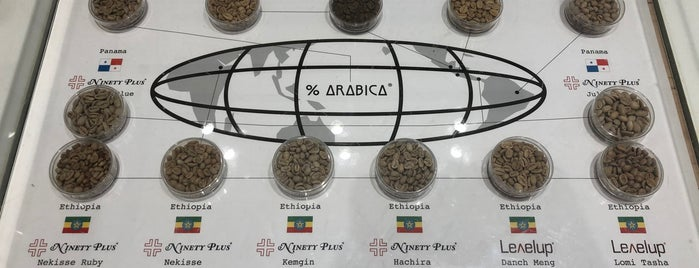 % Arabica is one of Hong Kong.