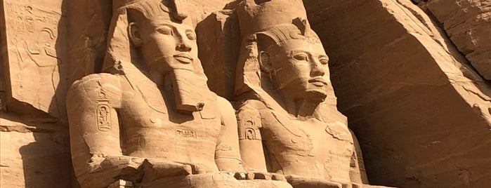 Great Temple of Ramses II is one of Egypt.