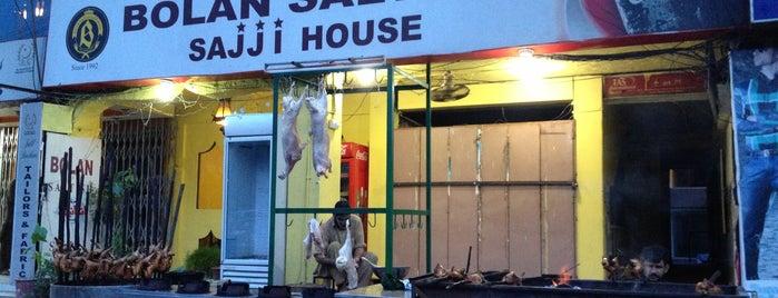 Bolan Sajji House is one of Posti che sono piaciuti a Omer.