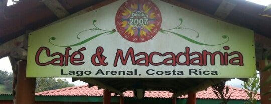 Café & Macadamia is one of Costa Rica.