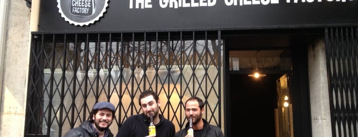The Grilled Cheese Factory is one of Liste Paris Salé.