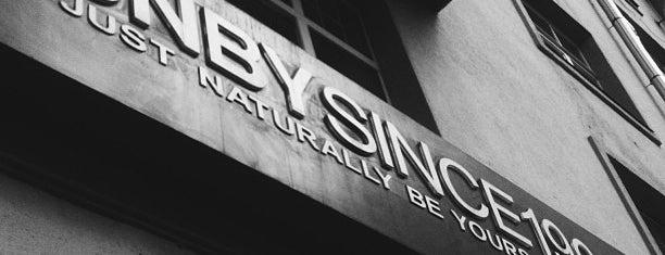 JNBY is one of Где еще можно почитать БГ в заведениях Москвы.