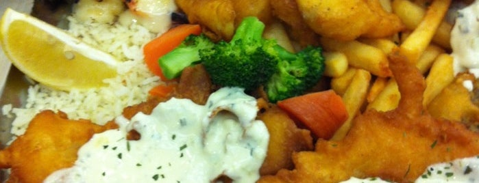 The Manhattan Fish Market is one of Veggie choices in Non-Vegetarian Restaurants.