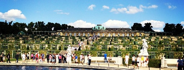 Park Sanssouci is one of berlin.